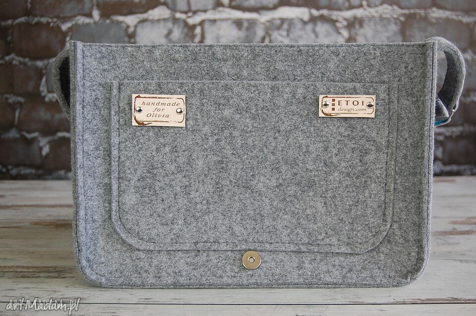 filc na laptopa filcowa torebka ramię