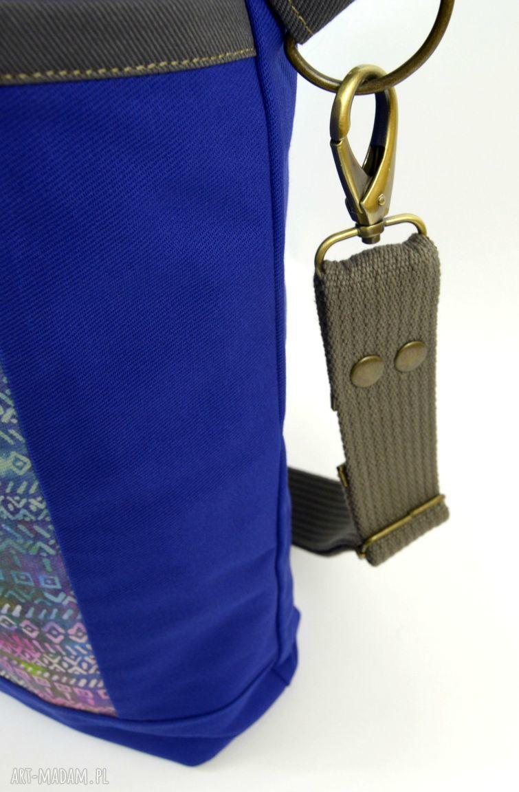 pomysły na święta prezenty prezent torba ramię blue aztek