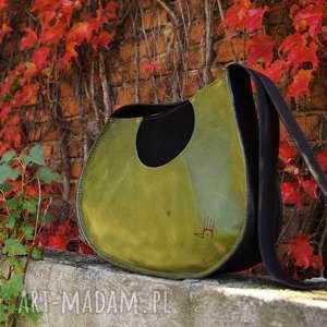 Janis skórzana torba inspirowana gitarą na ramię czajkaczajka