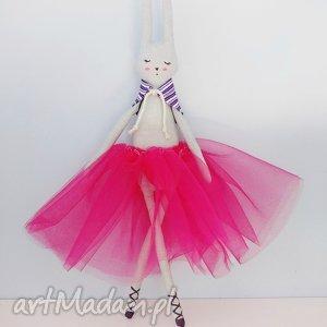 króliczek baletnica - ,króliczek,baletnica,bunny,tiulowa,kolorowa,tilda,