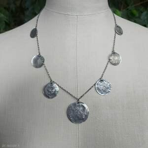 święta, naszyjnik srebrny, srebro, biżuteria autorska, srebro