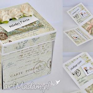 wrzosowisko box dla młodej pary, kartka, box, pudełeczko, śłub, ślubny, prezent
