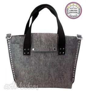 handmade torebki torba filcowa industrial bag