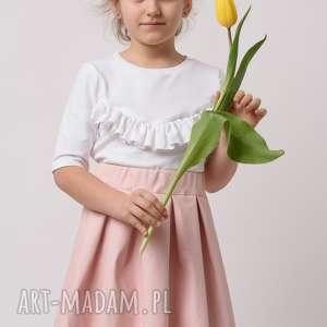 ręcznie wykonane ubranka spódniczka dziecięca lisa