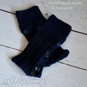 rękawiczki-mitenki - rękawiczki, mitenki, dodatki, prezent, niebieskie
