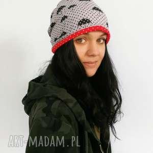 hand-made czapki czapka dresowa smerfetka