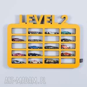 Półka na resoraki ORGANIZER samochodziki GARAŻ LEVEL2, półka, chłopiec