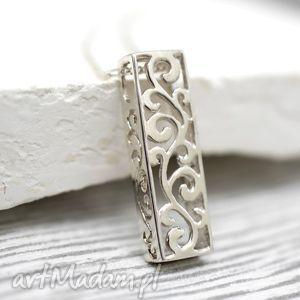 925 naszyjnik ornament - ornament, orient, wisoirek, srebro, srebrny, łańcuszek