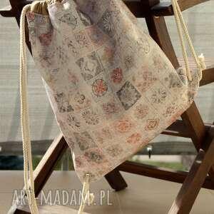 Plecak - worek happyart plecak, worek, zadar, prezent, pastele
