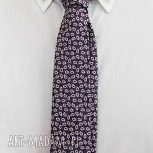 Krawat slim #31, krawat, dodatki, wielokolor, męski, jedwab,