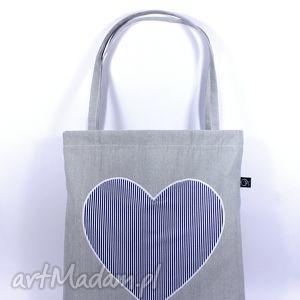 siatka-zakupówka 12 , siatka, serce, zakupy, eko, torba, bawełna