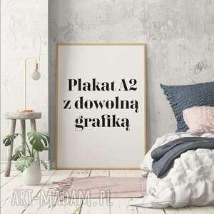 plakat a2 z każdym wzorem naszego butiku, wnętrza, wystrój, salon, kuchnia