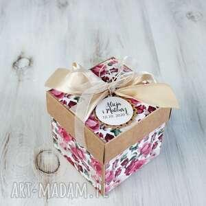 pudełko kartka - ślub wesele, prezent