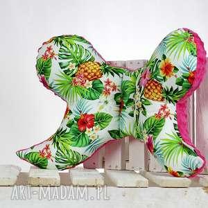 motylek- poduszka antywstrząsowa tropical - antywstrząsowa, poduszka, motylek