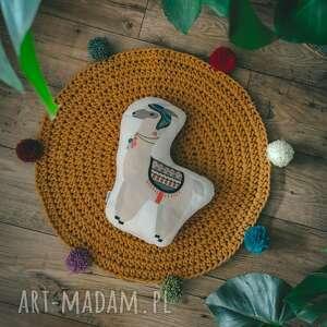 dywanik okrągły ze sznurka dla dziecka