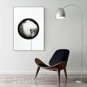 obraz ręcznie malowany 70 x 100 cm, nowoczesna abstrakcja, 2796497