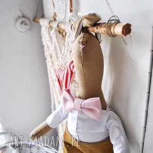 Prezent! Pan królik maskotki peppofactory przytulanka, prezent