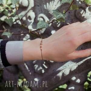 Bransoletka zodiac baran turmalin jaspis karneol hematyt w hand
