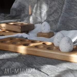 ręcznie zrobione dekoracje podstawka do jajek