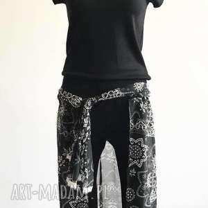 ququ design za szyfonową zasłonką-spodnie na każdą okazję, spódnico spodnie