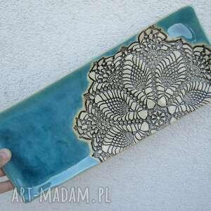 ceramika dekoracyjny talerz podstawka, podstawka na świece