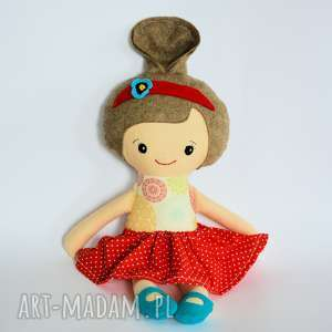 pomysł na prezent pod choinkę Lala Umilka - Iza 45 cm, lalka, tancerka, baletnica