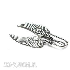 Angel vol. 5 - kolczyki, skrzydełka, srebro