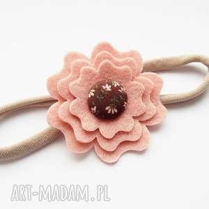 handmade ozdoby do włosów opaska do włosów kwiatek kolekcja sophie