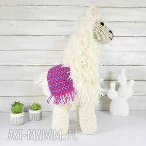 Lama przytulanka zabawki agasammodnedzieciaki lama, zabawka