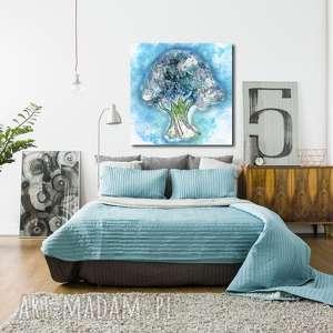 Obraz Drzewo 33 - 100x100cm do salonu lub sypialni abstrakcja, obraz, drzewo, design