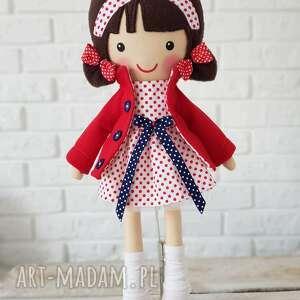 lalki malowana lala martynka, lalka, zabawka, przytulanka, prezent