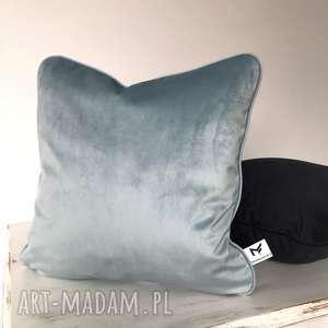 poduszka velvet grey, poduszka, poduszki, velvet, welwet, aksamit, szara