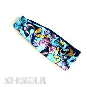 handmade opaski opaska damska uniwersalna z tylu na gumke, w najszerszym miejscu ma 9cm