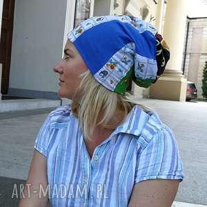 handmade czapki czapka damska etno boho wiosenna codzienna