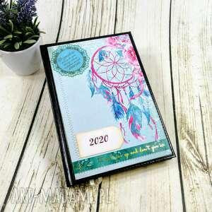kalendarz książkowy 2020- łapacz, kalendarz, książkowy, a5, planer, 2020