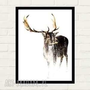 Deer Plakat 50x70, plakat