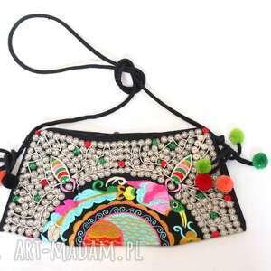 ręcznie zrobione na ramię torebka damska haftowana hmong