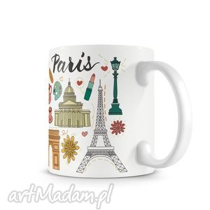 kubek paris, kubek, paryż, świat