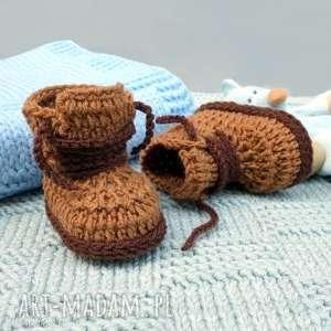 buciki laval, buciki, wełniane, ciepłe, miękkie, niemowlęce, prezent, świąteczny