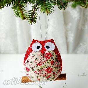 pomysł na upominek świąteczny Sowa, sowa, sówka, bombka, święta, choinka, narodzenie