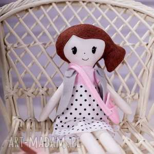 Lalka szmaciana Mia , bawełna