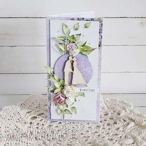 kartka ślubna w pudełku 456, prezent, wesele