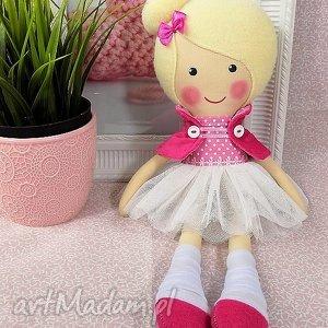 Prezent baletnica blanka, lalka, zabawka, przytulanka, prezent, niespodzianka