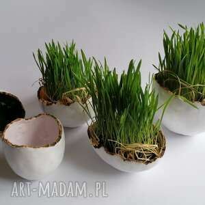 jajeczna miseczka new 8, ceramika rękodzieło, z gliny, dekoracja stołu