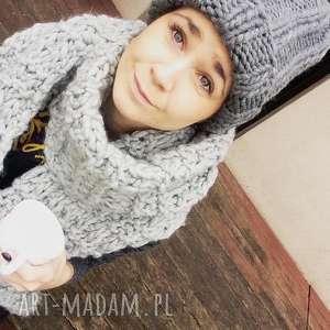 czapka xxl gruba wełna peruwiańska, czapka, ręcznie, wełniana, ciepła, miła, beanie