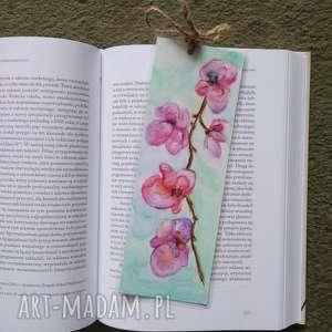 hand-made zakładki zakładka do książki-kwiaty