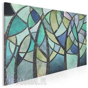 obraz na płótnie - abstrakcja brokat 120x80 cm 59001, brokat, kształty