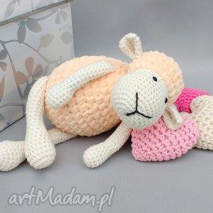 handmade maskotki owieczka matylda