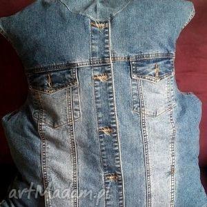 duża poducha jeansowa, poducha, materacyk, minilegowisko, jeans, recykling, minipufka