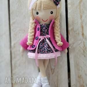 ręcznie zrobione lalki malowana lala jagoda